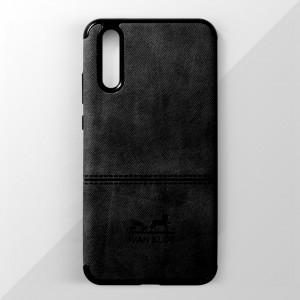 Ốp lưng Huawei P20 vân vải bố Ivan Klot (Đen)