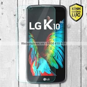 Miếng dán màn hình cường lực LG K10 2016 (trong suốt)