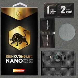 Kính dán cường lực Camera LG V10 chính hãng Web Phụ Kiện
