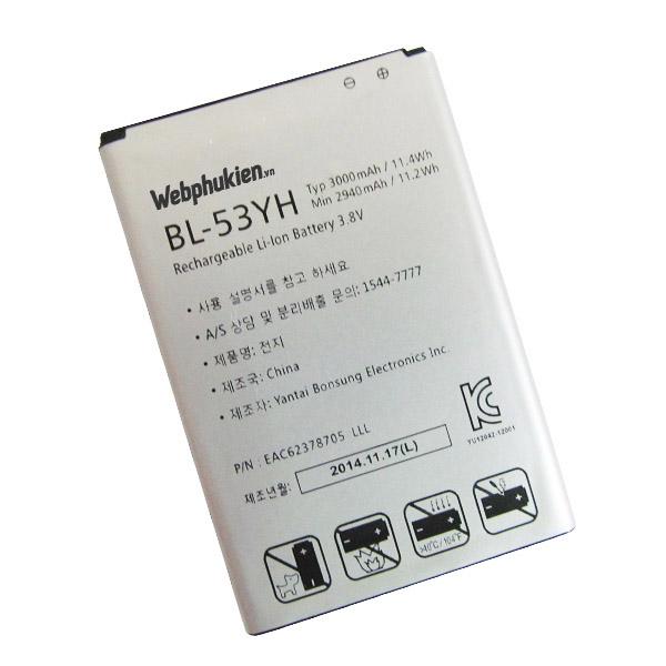Pin LG BL-53YH 3000mAh (G3, F400, D855)