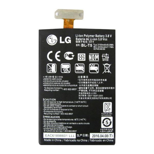 Pin LG BL-T5 2100mAh (Optimus G/ E975/ F180/ Google Nexus 4/ E960)
