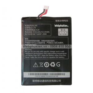 Pin Lenovo iDeatab A2107, A2207 (BL195) - 3550mAh Original Battery