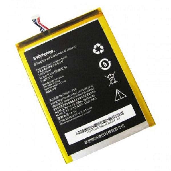 Pin Lenovo A1010 (L12D1P31) - 3650mAh Original Battery