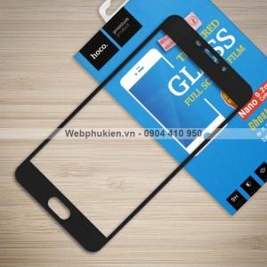 Miếng dán cường lực Meizu M5 Note hiệu HOCO Full màn hình (Đen)