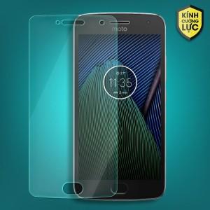 Miếng dán kính cường lực Motorola Moto G5 Plus (trong suốt)