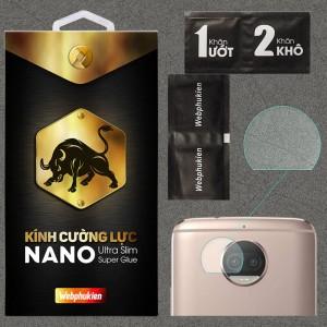 Kính dán cường lực Camera Motorola Moto G5S Plus chính hãng Web Phụ Kiện