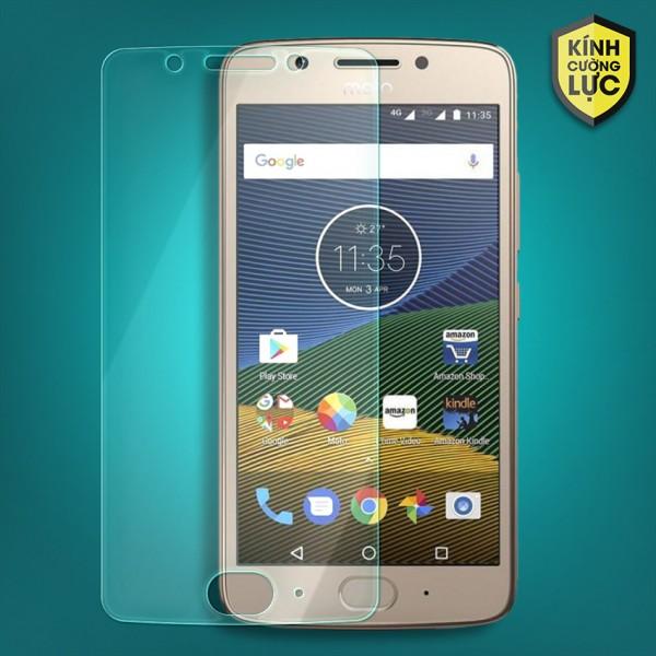 Miếng dán kính cường lực Motorola Moto G5 (trong suốt)