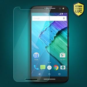 Miếng dán màn hình cường lực Motorola Moto X Style (trong suốt)