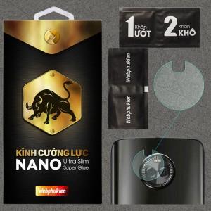 Kính dán cường lực Camera Motorola Moto X4 chính hãng Web Phụ Kiện
