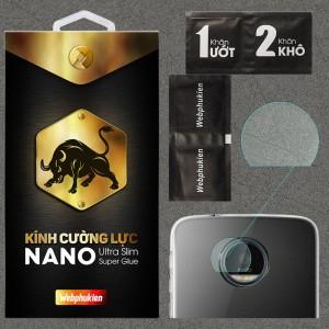 Kính dán cường lực Camera Motorola Moto Z Play chính hãng Web Phụ Kiện