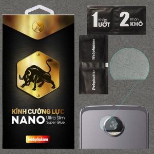 Kính dán cường lực Camera Motorola Moto Z2 Play chính hãng Web Phụ Kiện