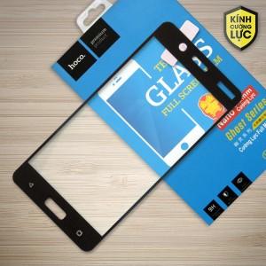 Miếng dán cường lực Nokia 5 hiệu HOCO Full màn hình (Đen)