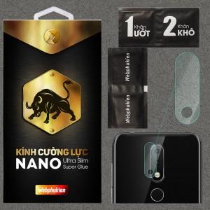 Kính dán cường lực Camera Nokia 6.1 Plus / Nokia X6 chính hãng Web Phụ Kiện