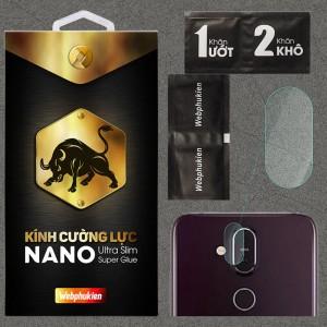 Kính dán cường lực Camera Nokia 7.1 Plus / Nokia X7 chính hãng Web Phụ Kiện