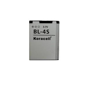 Pin Koracell Nokia BL-4S - 860mAh (X3/ 2680/ 3600/ 3710/ 7020/ 7100)