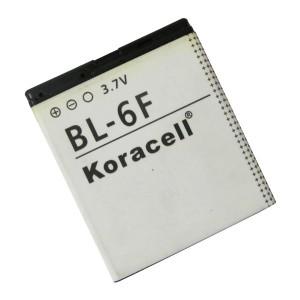 Pin Nokia BL-6F hiệu Koracell cho Nokia 6788, N78, N79, N93, N95, N96