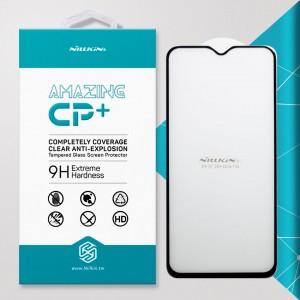 Miếng dán cường lực OnePlus One Plus 7 hiệu Nillkin Full Keo (Đen)