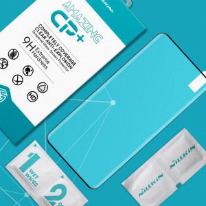 Miếng dán kính cường lực OnePlus 8 Pro Full hiệu Nillkin (Đen)
