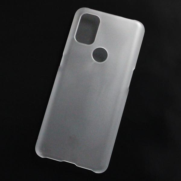 Ốp lưng nhựa cứng OnePlus One Plus Nord N10 nhám trong