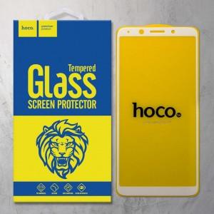 Miếng dán cường lực Oppo A75 hiệu HOCO Full màn hình (Trắng)