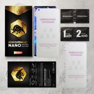 Miếng dán dẻo PPF Oppo Reno 4 Pro, K7X, Reno 5 Pro, Find X2 Neo, ACE 2 hiệu Web Phụ Kiện mặt trước