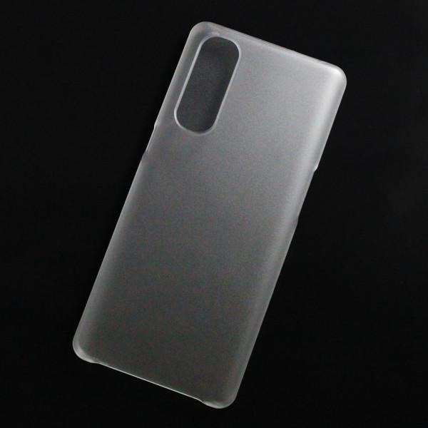 Ốp lưng nhựa cứng Oppo Reno 3 Pro 5G nhám trong