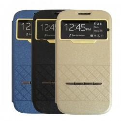 Bao da Samsung Galaxy S4 (I9500) dạng gập ngang