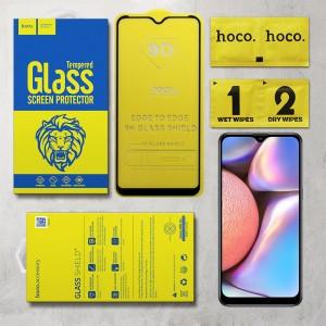 Miếng dán cường lực Samsung Galaxy A10s hiệu Hoco Full Keo (Đen)