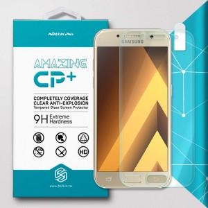 Miếng dán cường lực Samsung Galaxy A3 2017 hiệu Nillkin Full (trong suốt)