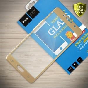 Miếng dán cường lực Samsung Galaxy A5 2016 (A510) hiệu HOCO Full màn hình (Vàng)