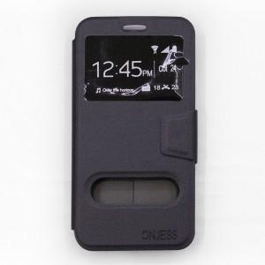 Bao da Samsung Galaxy A5 2017 hiệu OnJess (Đen) - Case dẻo