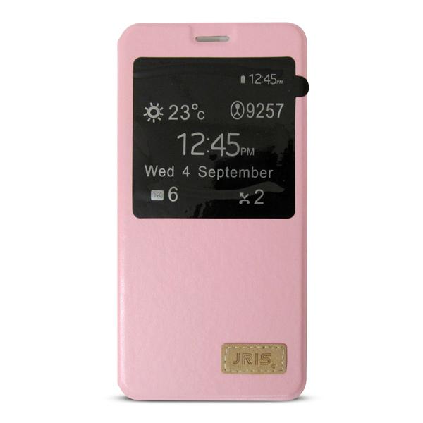 Bao da Samsung Galaxy A7 2016 hiệu JRIS (hồng cánh Sen)