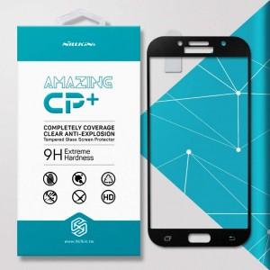 Miếng dán cường lực Samsung Galaxy A7 2017 hiệu Nillkin Full (Đen)