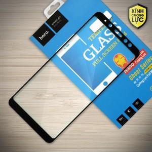 Miếng dán cường lực Samsung Galaxy A8 Plus 2018 hiệu HOCO Full màn hình (Đen)
