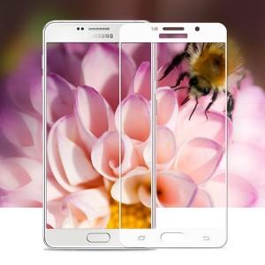 Miếng dán kính cường lực Samsung Galaxy A9 Pro Full màn hình màu Trắng