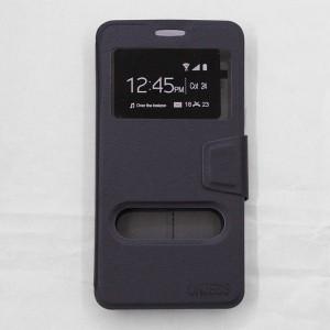 Bao da Samsung Galaxy A9 Pro hiệu OnJess (Đen) - Case dẻo