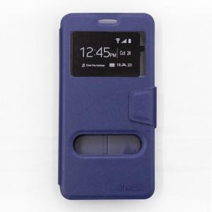 Bao da Samsung Galaxy A9 Pro hiệu OnJess (Xanh) - Case dẻo