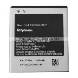 Pin Samsung Galaxy S2 Hàn Quốc E210 (EB-L1D7IBA) - 1850mAh Original Battery