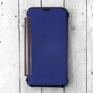 Bao da Samsung Galaxy J3 Pro Clear View (xanh Navy)