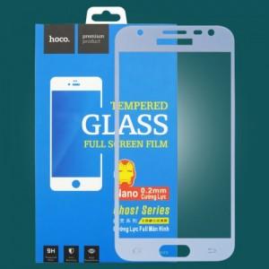 Miếng dán cường lực Samsung Galaxy J3 Pro hiệu HOCO Full màn hình (xanh Coral)