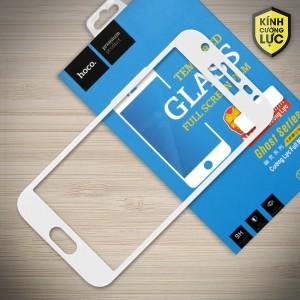 Miếng dán cường lực Samsung Galaxy J3 Pro hiệu HOCO Full màn hình (Trắng)