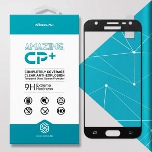Miếng dán cường lực Samsung Galaxy J3 Pro hiệu Nillkin Full (Đen)