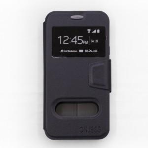 Bao da Samsung Galaxy J5 Pro hiệu OnJess (Đen) - Case dẻo