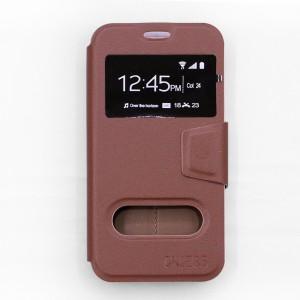 Bao da Samsung Galaxy J5 Pro hiệu OnJess (Nâu) - Case dẻo