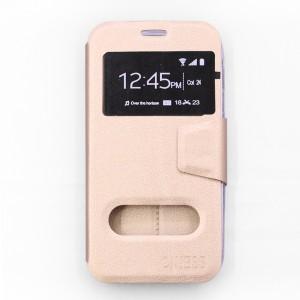 Bao da Samsung Galaxy J5 Pro hiệu OnJess (Vàng) - Case dẻo