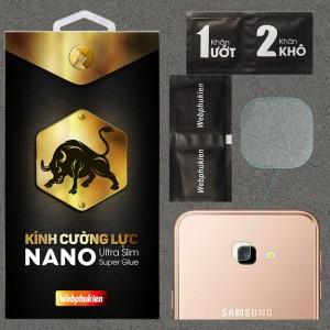 Kính dán cường lực Camera Samsung Galaxy J4 Plus chính hãng Web Phụ Kiện