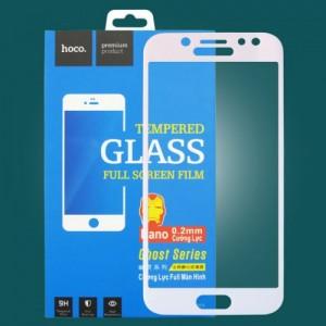 Miếng dán cường lực Samsung Galaxy J5 Pro hiệu HOCO Full màn hình (Trắng)