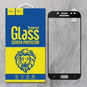 Miếng dán cường lực Samsung Galaxy J5 Pro hiệu HOCO Full màn hình (Đen)