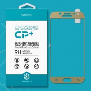 Miếng dán cường lực Samsung Galaxy J5 Pro hiệu Nillkin Full (Vàng)