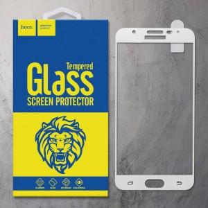 Miếng dán cường lực Samsung Galaxy J7 Prime hiệu HOCO Full màn hình (Trắng)
